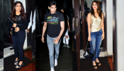 Bhumi Pednekar, Vaani Kapoor, Ahan Shetty and others spotted in the city