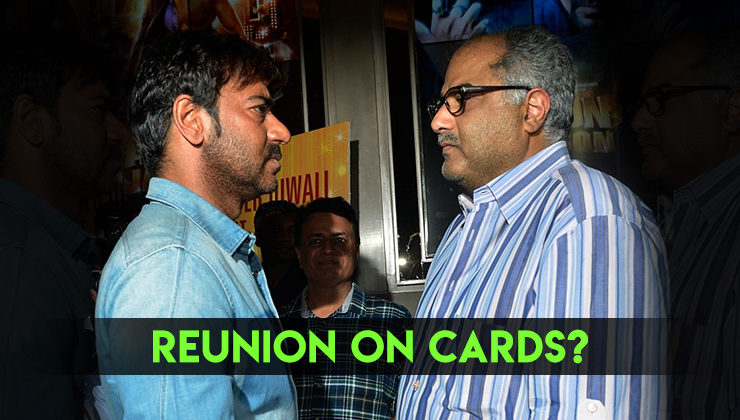 Will Bollywood witness Ajay Devgn and Boney Kapoor's reunion after 16 years?