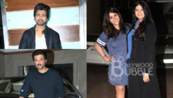 Anil Kapoor, Rhea Kapoor and Ekta Kapoor at 'Veere Di Wedding' success bash