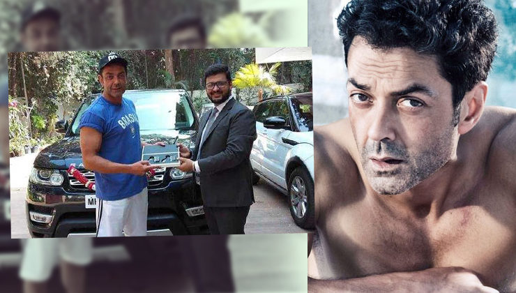 Bobby Deol's new Range Rover Sport has become the talk of the town
