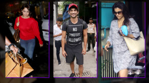 Celeb spotting: Yami, Sushant Singh Rajput, Kajol and others snapped on the move