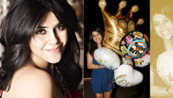 In Pictures: Ekta Kapoor's 43rd birthday celebration looks like a lot of fun!