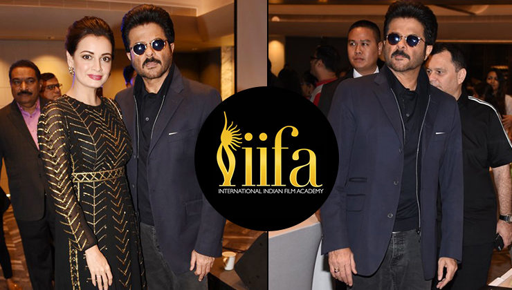 Bollywood celebrities snapped at Osian's cinematic heritage auction at IIFA 2018