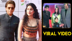 Viral Video: Young Shah Rukh Khan receives best actor award from Janhvi Kapoor