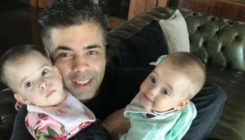 Karan Johar treats his fans to an adorable video of his twins on Father's Day