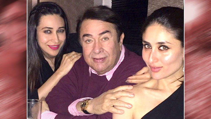 This is what Kareena Kapoor and Karisma Kapoor gifted dad Randhir on Father's Day!