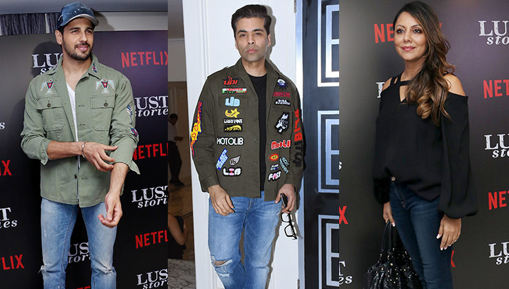 'Lust Stories' special screening was a star-studded event