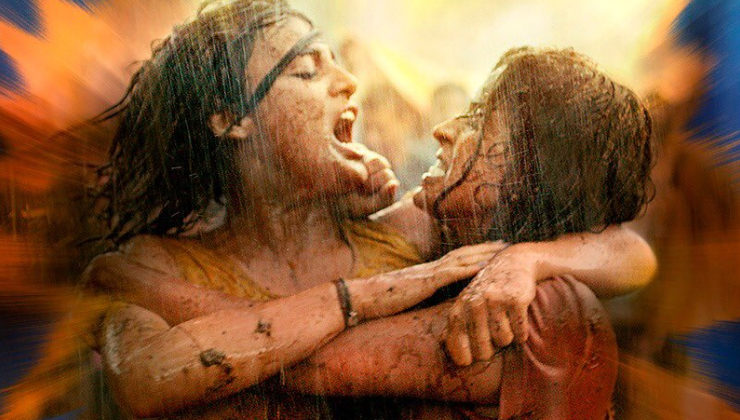 'Pataakha' Poster: Battle begins between two sisters- Sanya Malhotra and Radhika Madan