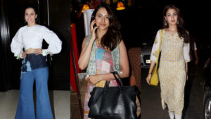 Taapsee Pannu, Rakul Preet, Rhea Chakraborty go out and about in the city