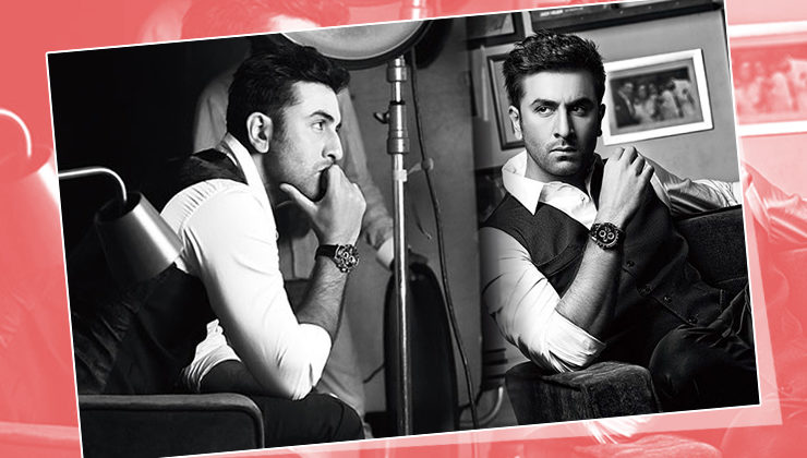 Ranbir Kapoor's b/w photoshoot will make you fall in love with him all over again!
