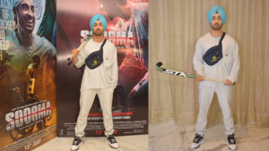 'Soorma' Diljit Dosanjh promotes his upcoming film in style!
