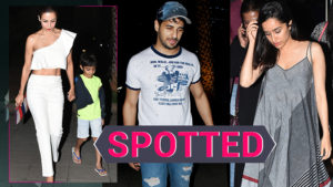 Sidharth Malhotra, Shraddha Kapoor, Malaika Arora and family go out and about in the city!