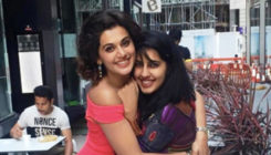 PHOTO: Taapsee Pannu moves into her swanky new pad with sister Shagun!