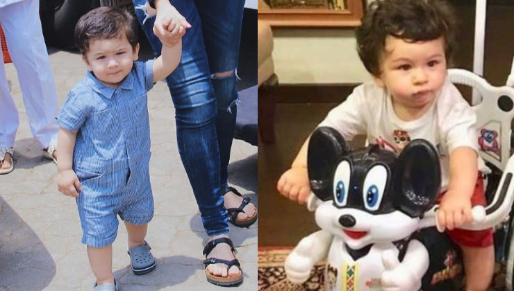 In Pics: Taimur Ali Khan enjoys a scooter ride in London