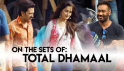 From the sets of 'Total Dhamaal': Madhuri, Ajay, Riteish begin shooting in the city
