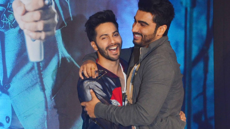 Varun Dhawan and Arjun Kapoor's laugh in this video is infectious AF