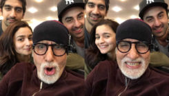 Amitabh Bachchan had the perfect treat for his 'Brahmastra' team- Check out what