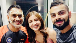 Anushka Sharma celebrates captain cool Dhoni's birthday with hubby Virat Kohli