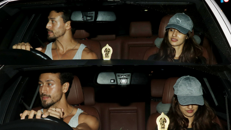 PHOTOS disha patani tiger shroff date