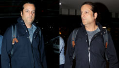 PICS- Fardeen Khan makes a rare appearance at the airport