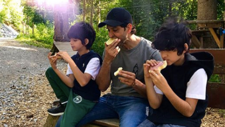 'Super 30' effect: This is how Hrithik Roshan's sons are mastering the Bihari dialect!