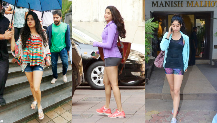 Janhvi Kapoor has a penchant for hot shorts and we are totally digging it