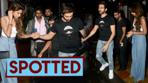 Kartik Aaryan dines with girlfriend Dimple Sharma in Bandra!