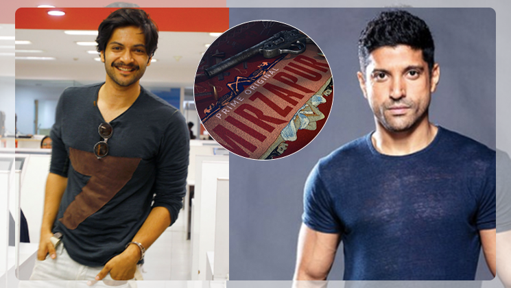 Farhan Akhtar, Ali Fazal welcome audiences to 'Mirzapur'