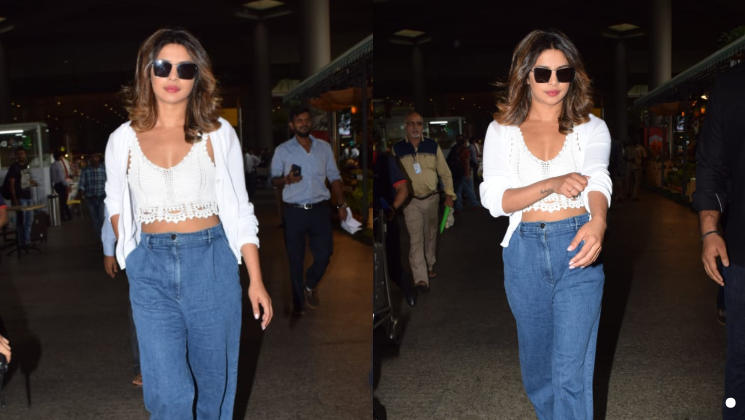 priyanka mumbai airport 23 july
