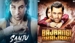 'Sanju' beats 'Bajrangi Bhaijaan' becomes the fourth highest grosser of Bollywood!