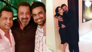 Sanjay Dutt bash photos