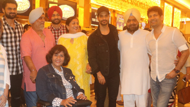 Bishan Singh Bedi, Madan Lal, Sandeep and others attended 'Soorma's screening
