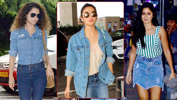 Take inspiration from B-town celebs on how to rock the denim look like a pro