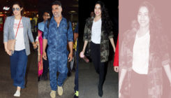 Airport Diaries: Akshay, Twinkle and Janhvi Kapoor at their stylish best