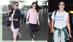 Airport Spotting: Akshay Kumar, Gauahar Khan's fashion game is on point