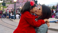 Aishwarya and Aaradhya's photo will make you visit Disneyland with your mommy