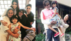 This picture of Aaradhya hugging grandpa Big B is adorable beyond words