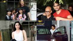 Farah, Khushi visit a salon; Sidharth, Varun papped in the city