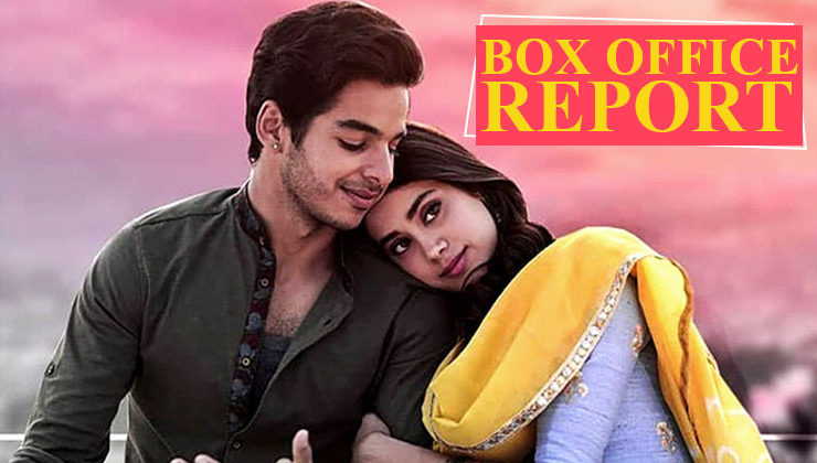 Check out the Day 5 box office collection of Ishaan-Janhvi's 'Dhadak'