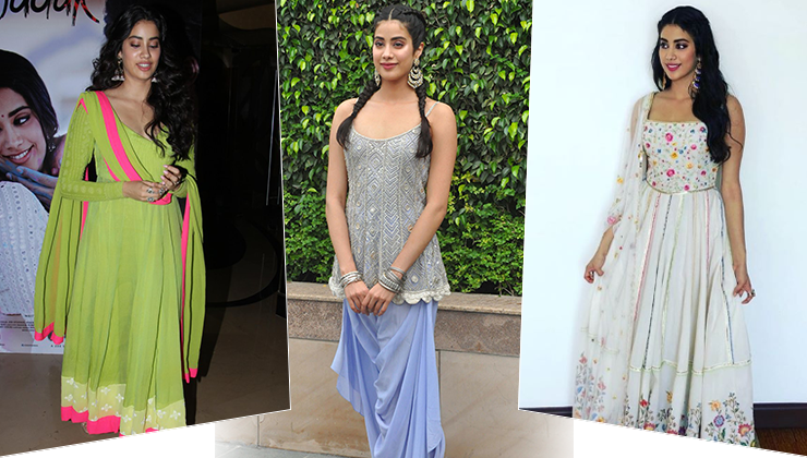 Dhadak promotions: How Janhvi Kapoor is bringing ethnic wear back in trend