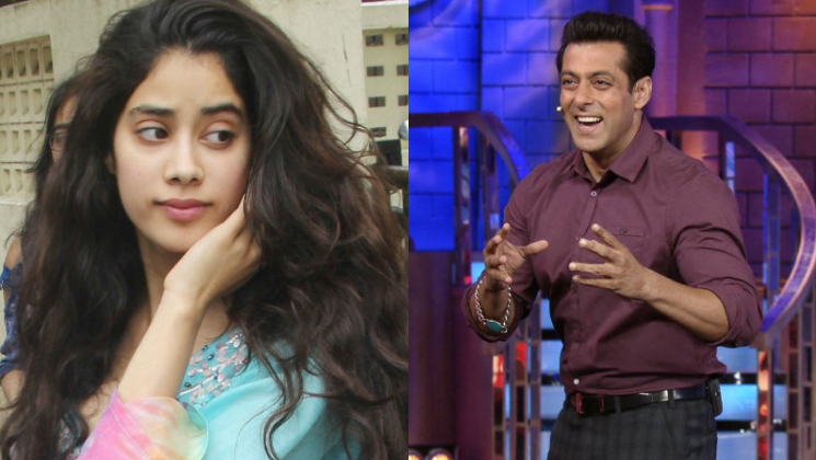 This incident with Salman Khan embarrasses Janhvi Kapoor now!