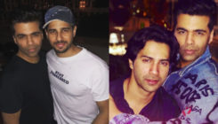 Karan Johar parties all night with Varun, Sidharth, Sonam and Rhea- view pics