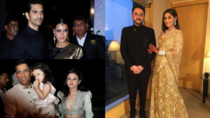 Neha-Angad, Dhoni-Sakshi and others at Poorna Patel's wedding reception