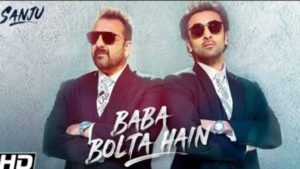 'Sanju's promotional song, 'Baba Bolta Hain Bas Ho Gaya' aptly takes a dig at media