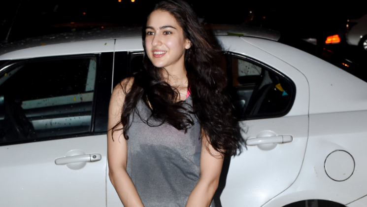 OOTD: Sara Ali Khan's yoga outfit can be your pick too for the next class