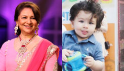 Sharmila Tagore on grandson Taimur: He is more famous than me!