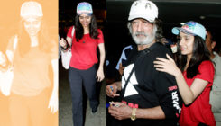 Shraddha Kapoor and dad Shakti Kapoor snapped at the airport