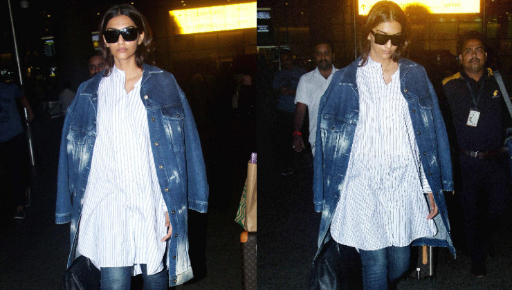 Fashionista Sonam Kapoor's recent airport look is disappointing