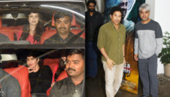 Sachin Tendulkar and family attend the special screening of 'Soorma'