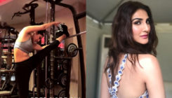 Vaani Kapoor sweats it hard at the gym for her next with Hrithik and Tiger